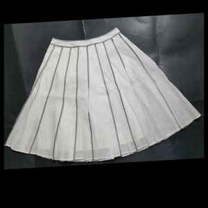 Talbots Petites Pleated Midi Skirt 2P